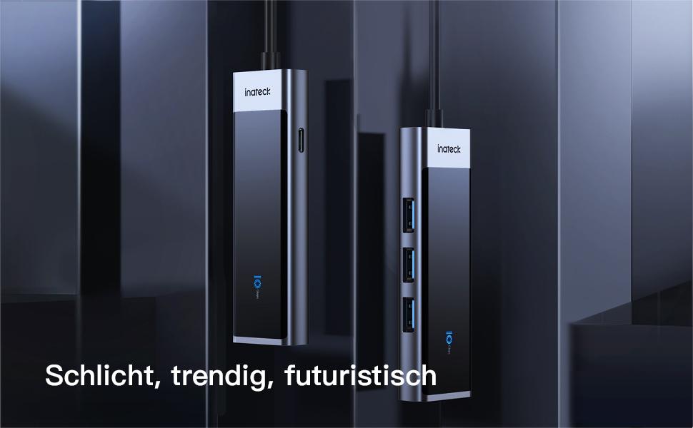 Schlicht, trendig, futuristisch