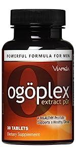 Ogoplex single bottle brown orange prostate support supplement by Vianda