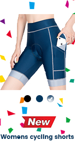 biker shorts padded with pockets