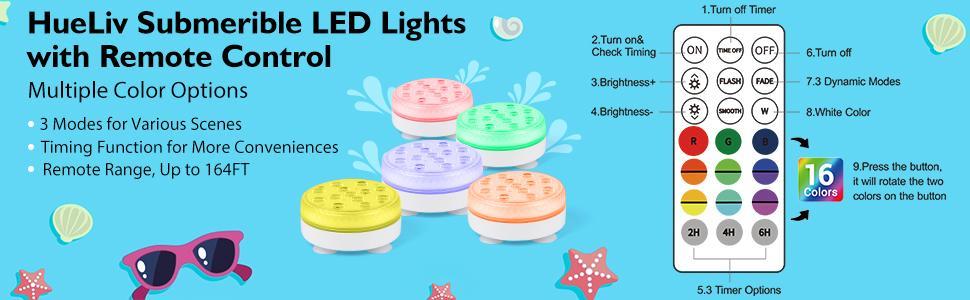 underwater pool lights