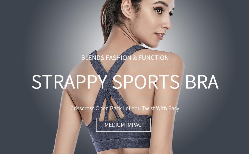 sports bras for women medium impact