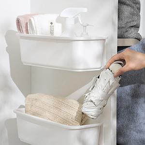Baffect Under Sink Storage Organizers Pull Out Cabinet Organizer Slide Out Plastic Drawer Basket