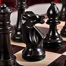 The Club Series Chess Set - Ebonized Boxwood