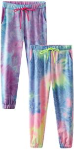 Tie Dye Joggers for Teen Girls