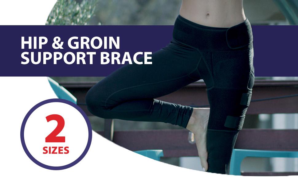 Thigh Wrap Hip Wrap supporter strap tight band piraformis trochanter trochanteric tendonitis