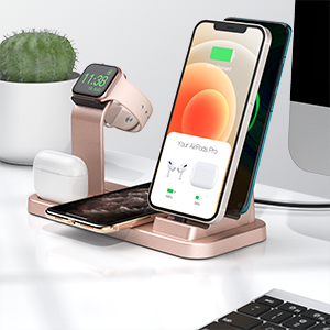 wireless 5 in 1 charging station apple