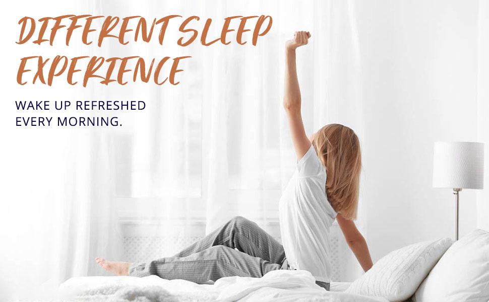 wake up refreshed every morning