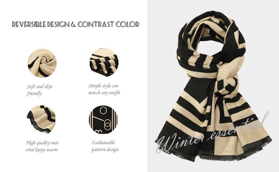 Warm Blanket Scarves for Women