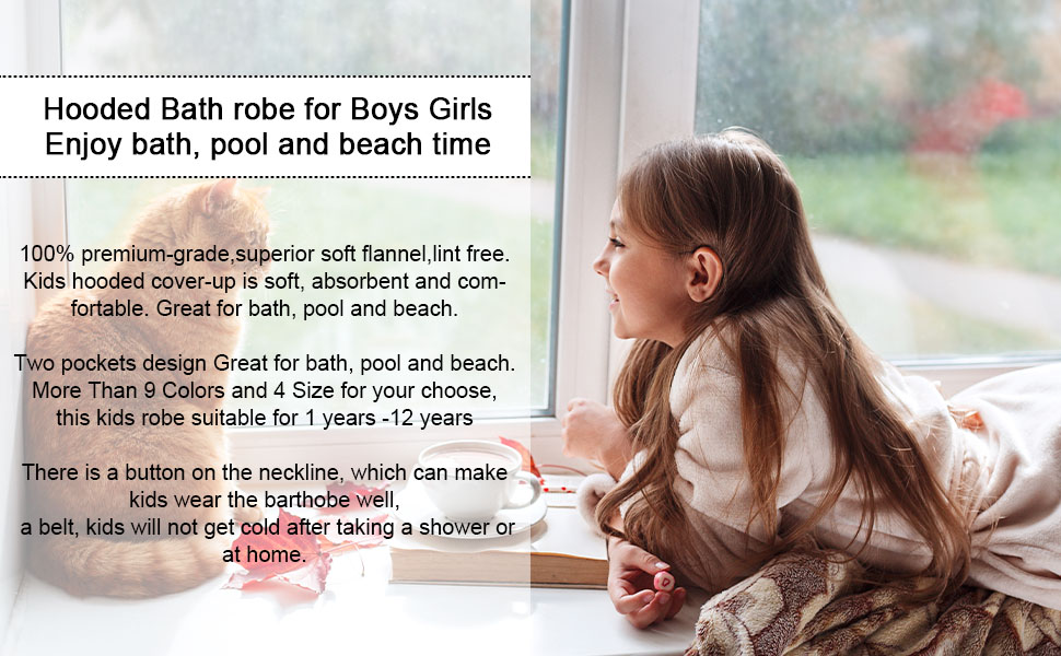 robes for girls
