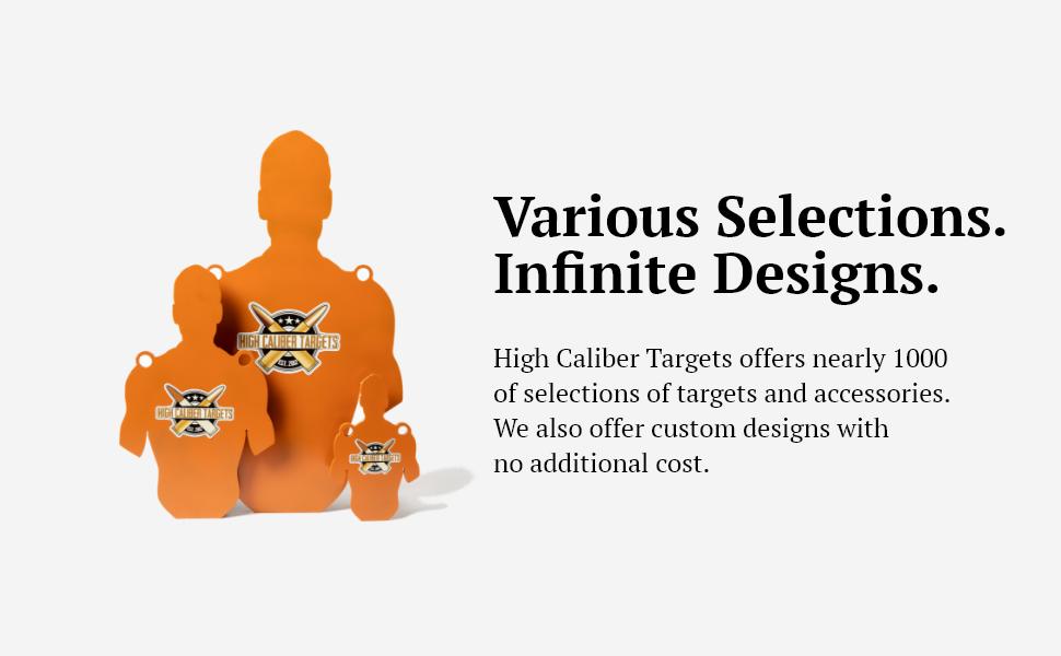 Silhouette Target, Designs
