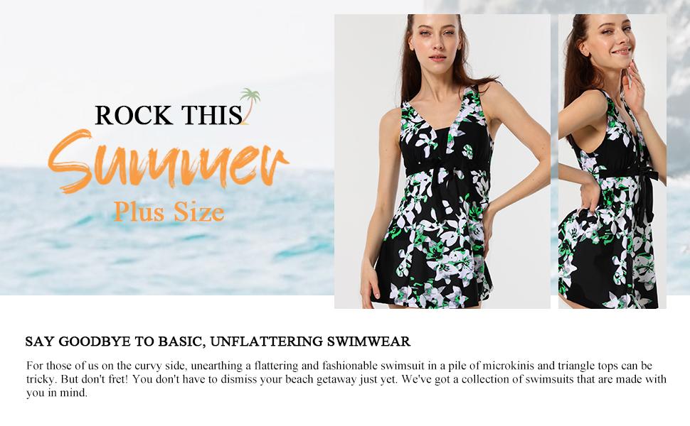 Wantdo Women's Swim Dress