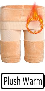 Nude warm leggings women