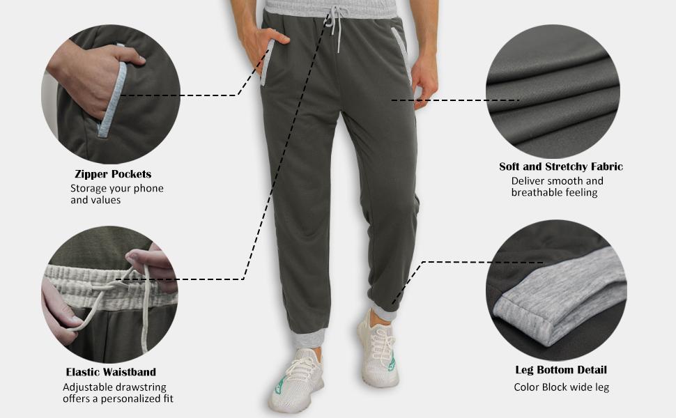 sweatpants details