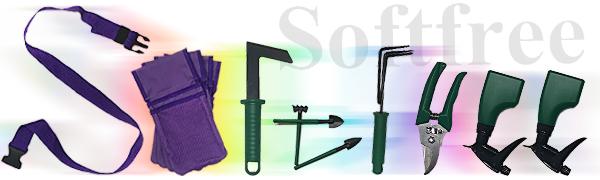 Softfree garden tool set