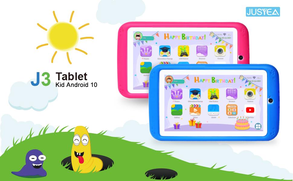 JUSYEA J3 Kid Tablet