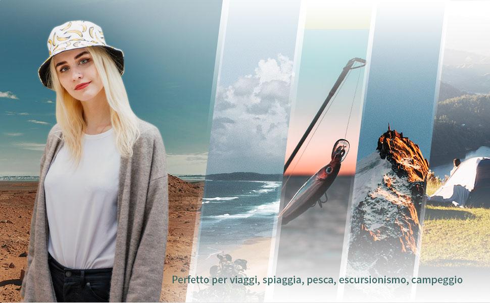 Cappello da pescatore da uomo donna