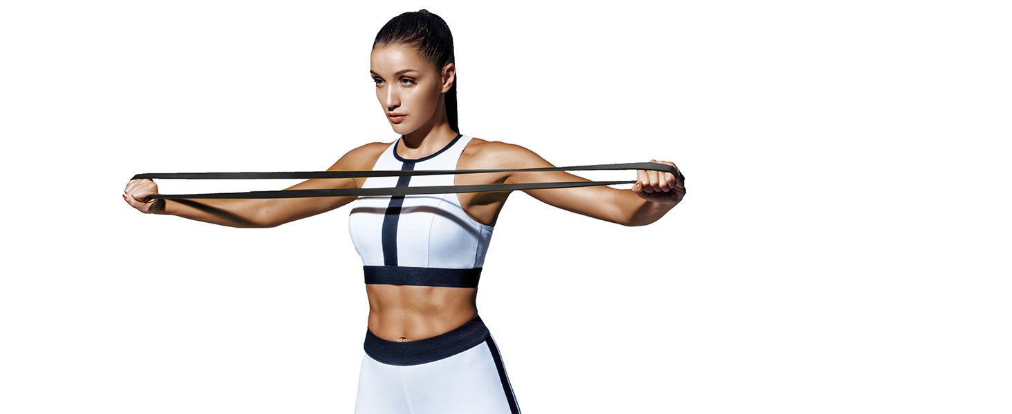 Long Resistance Bands Set Pull Up Bands Full Body Workout Bands Resistance Women Video Training