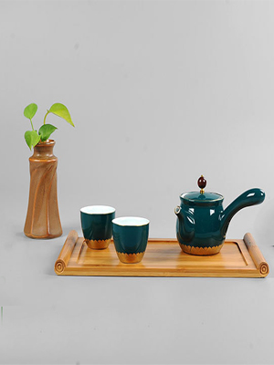 Serving Trays bamboo party platter decorative dish