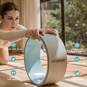 yoga wheel back wheel