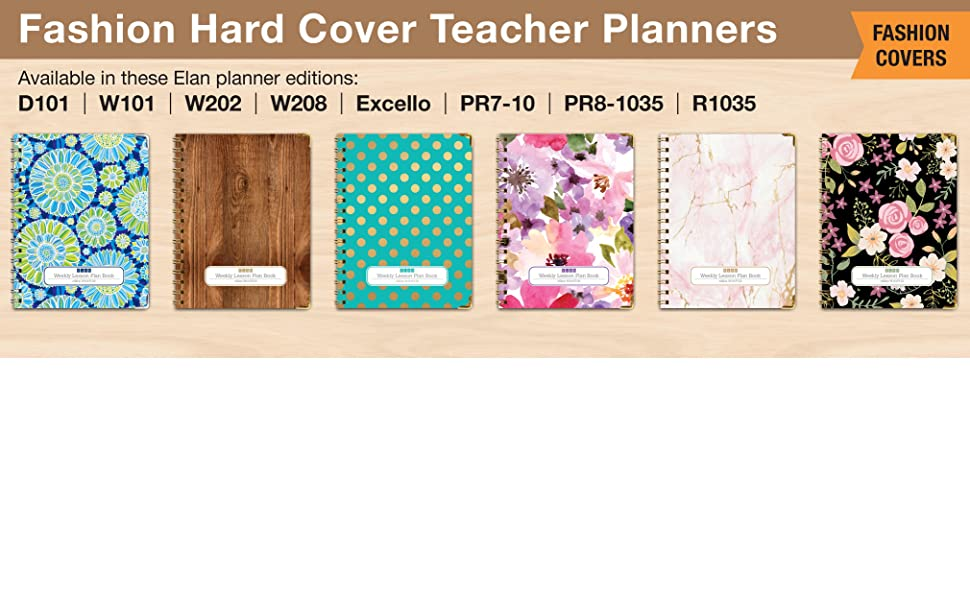 Teacher Planners available in Hard Covers