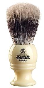 KENT INF1 Infinity Silvertex Shaving Brush