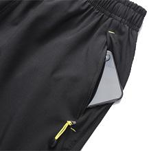CHEXPEL Mens Athletic Running Shorts Quick Dry Shorts with Zipper Pockets