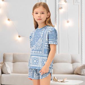 girls pajamas set