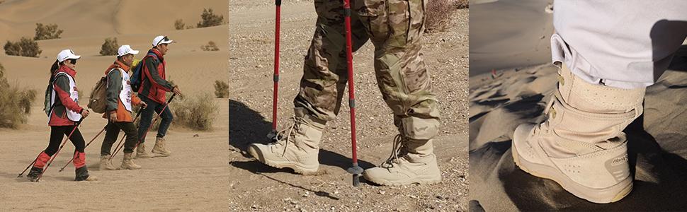 Hiking military boot