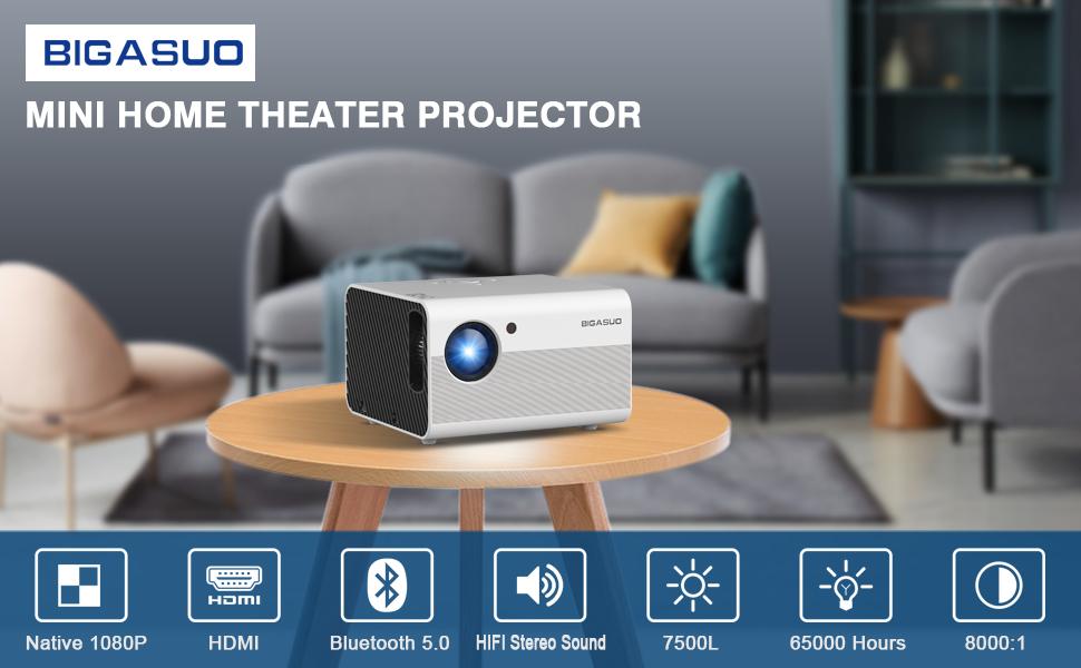 BIGASUO Projector