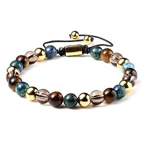 Multi Healing Men Gemstone Bracelet