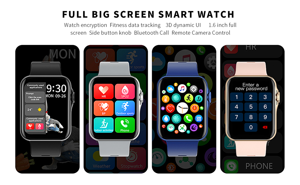 Full big screen smart watch