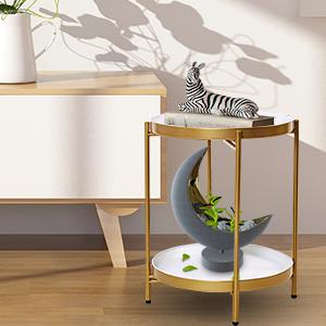 side table in livingroom