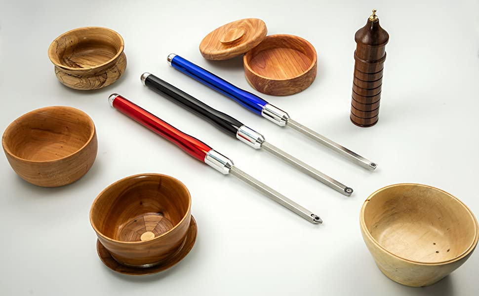 Carbide Lathe Tools for Wood Lathe Bowl Turning Rougher Finisher Hollower