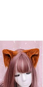 cosplay ears hair clips
