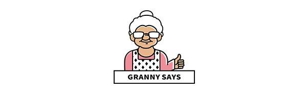 Granny Says Brand Logo