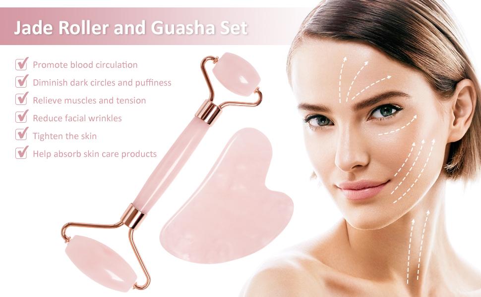 benefits of Qhou Jade Roller & Gua Sha Set