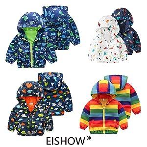 Baby Kid Waterproof Hooded Coat Jacket Outwear Raincoat Hoodies