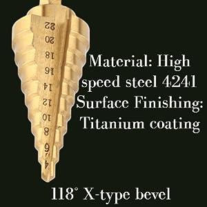 Drill Bit for Sheet Aluminium Metal Wood Hole Drilling