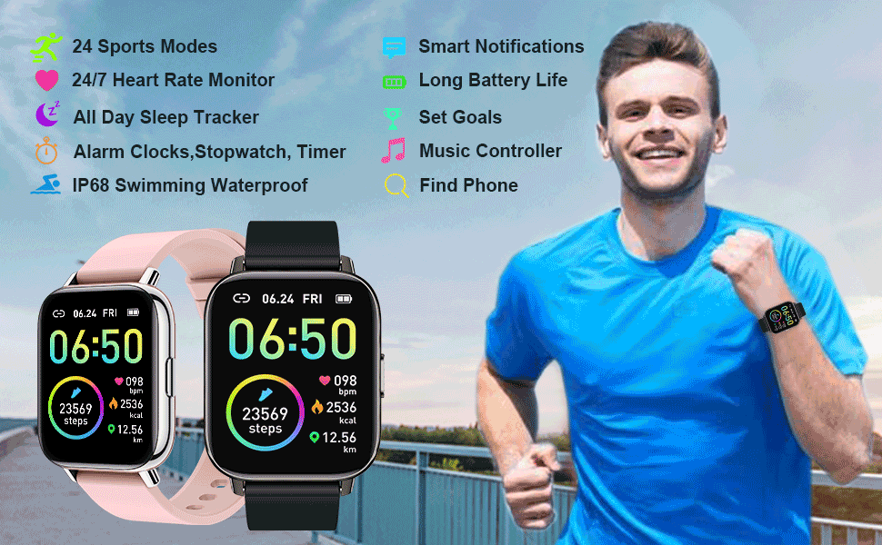 This Smartwatch includes more practical functions