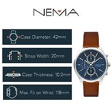 NEMA Chrono Watch Technical Sheet