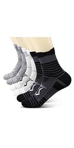 Women's Performance Athletic Running Cushioned Socks