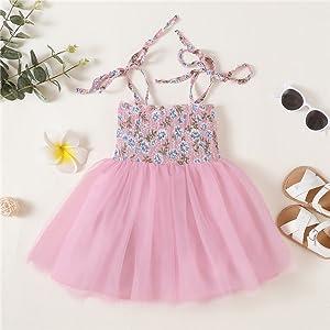 Pink tutu dress fir baby girl