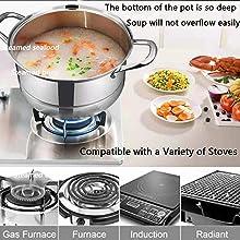 Multi-Layer Cookware Pot