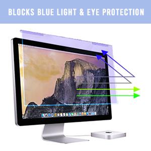 blue light screen protector blue light blocking screen protector 27 inch anti glare screen filter
