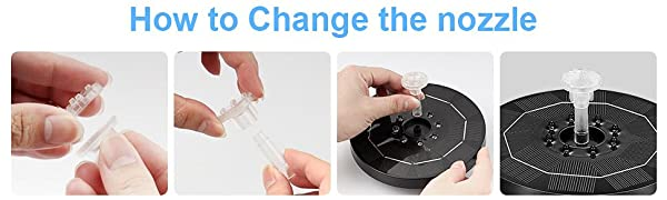 How to Change the nozzle