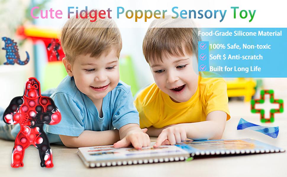 fidget popper sensory toy