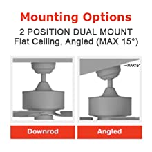2 pssition dual mount