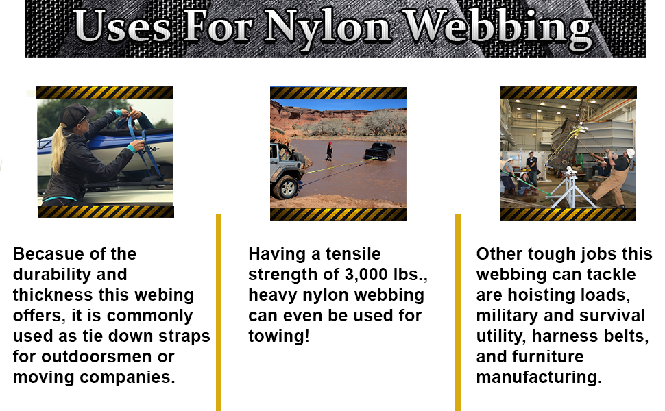 nylon heavy-duty strong industrial straps trapping