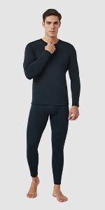 MEN Thermal Underwear Set Long Sleeve Set M24