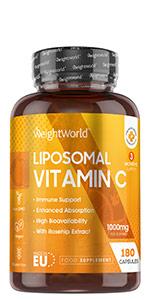 Vitamine C Liposomale Gélules